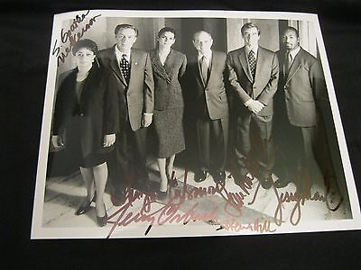 Law & Order Cast Hand Signed Autographed 8x10 Glossy Photo