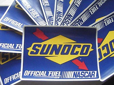 S VINTAGE//CURRENT SUNOCO GASOLINE RACING DECALS STICKERS UR CHOICE GAS NASCAR