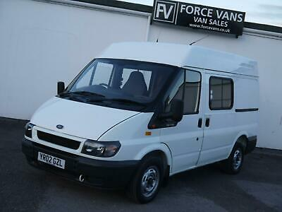 Ford Transit 100 Ps 280 Swb Meduim Semi High Crew Camper Day Motox Band Surf Van