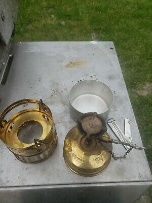 VINTAGE SVEA 123 Camp stove with REI Sigg style cook set +