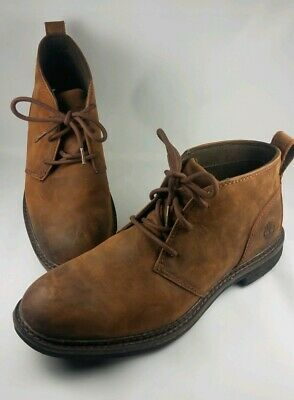buy online d5f36 b0113 Men s Timberland Logan Bay PT Chukka Boots Brown Leather A1R1U Size 10