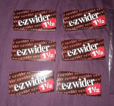 E-Z Wider 1 1/2 Rolling Papers [ (6) PACKS/BOOKLETS ]