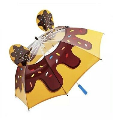 Disney Parks Mickey Donut W/ Sprinkles Ears Pop Up Food Collection Umbrella