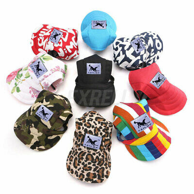 Pet Dog Hat Baseball Hat Summer Canvas Cap For Pet Dog Outdoor Accessories  AY