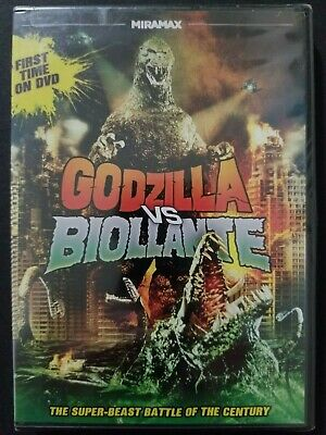 Godzilla Vs. Biollante (DVD, 2012) 1989 Sci-Fi Thriller Region 1 NEW SEALED OOP