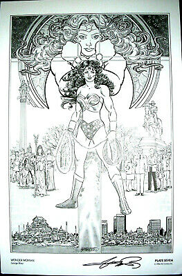 SIGNED- George PEREZ- Limited ART Print 1986 B
