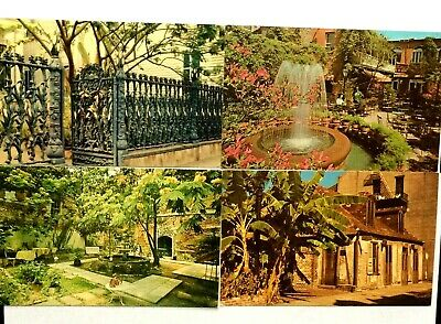 New Orleans Louisiana Lot Of 7 Vintage Chrome Postcards PCL-6