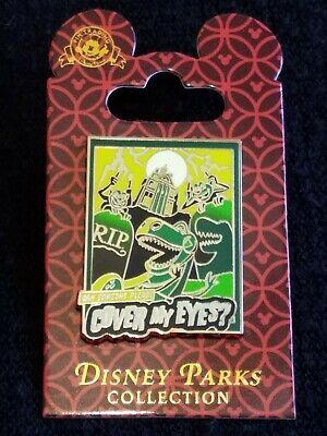 Disney Parks Collection Haunted Mansion Toy Story T-Rex  Trading Pin. Brand New