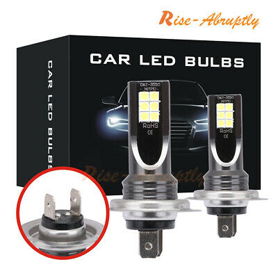 2PCS H7 110W 24000LM LED Car Headlight Conversion Globes Bulbs Beam 6000K Kit