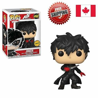 Authentic Funko POP Persona 5 JOKER Chase Variant Mint Condition FREE SHIP