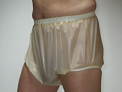 Latex Gummi Adult Windelhose füllig Art.0057 Mat.100%Latex 0,33 Transparent