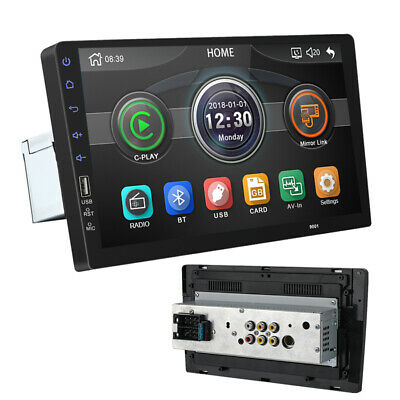 "Universal 9"" Touchscreen HD Auto Radio Stereo MP5 Player 1Din USB FM Windows CE"