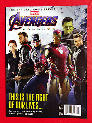 Titan Magazine 2019 Official Movie Special Marvel The AVENGERS ENDGAME