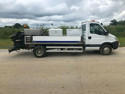 2007 Iveco Daily Mobile Concrete Pump