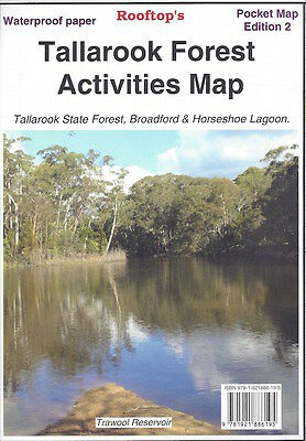 Rooftop Tallarook Forest Activities Map *FREE SHIPPING - NEW*