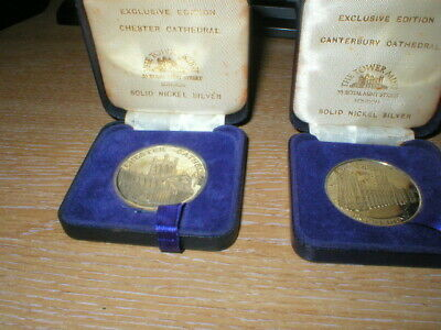 2 The Tower Mint Boxed Coins,