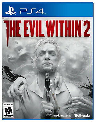 The Evil Within 2 PS4 The Only Way Out is In (Sony PlayStation 4) Factory Sealed