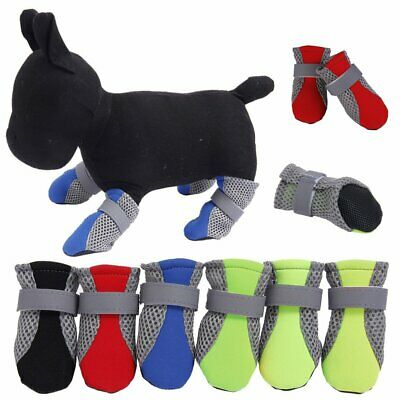 Dog Cat Shoes Waterproof XXS,XS,S,M,L,XL,XXL Boots Booties Paws Injury EU