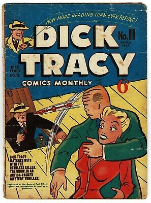 Dick Tracy Comics Monthly No. 11 March 1951 Australian