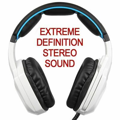 Sades Stereo Gaming Headphone Headset with Microphone for PC Laptop Xbox PS4 Pro