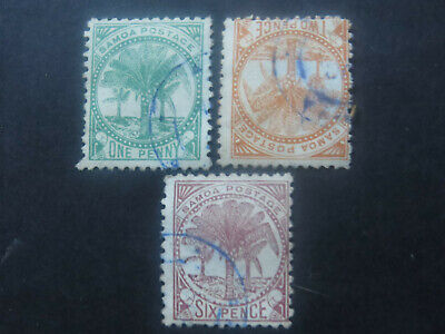 Samoa 1886 Selection - Used - High CV