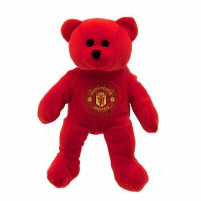 Manchester United FC Official Football Gift Mini Bear-Christmas Birthday Beanie