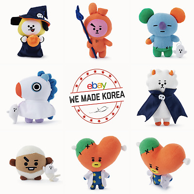[Pre Order] BTS BT21 Halloween Standing Doll Limited Edition Authentic K-POP MD
