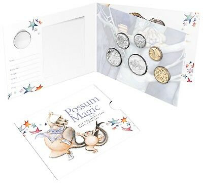 "2018 Australia Baby Uncirculated Mint Coin Set - ""Possum Magic""  Ram Issue"