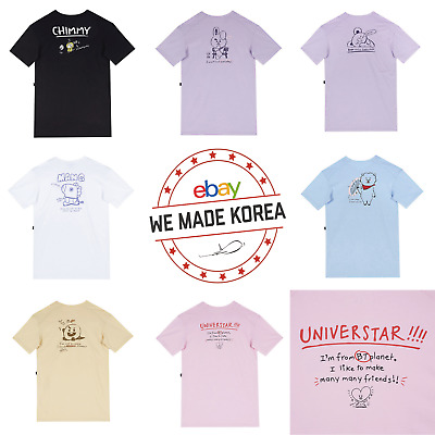 BTS BT21 X SPAO Short Sleeve Long T-Shirt 7types Official K-POP Authentic Goods