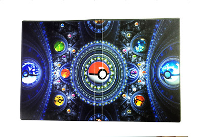 Carte Bleue Zip.Album Range Carte Bleu A Zip Avec Des Cartes Pokemon Tbe