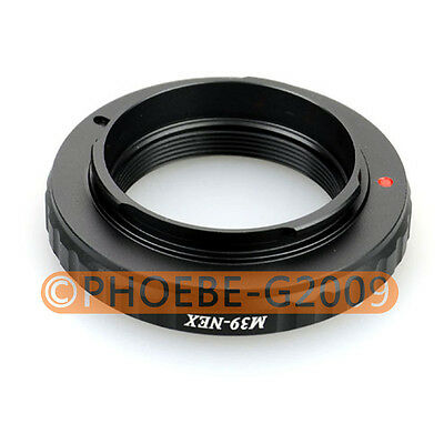 Leica M39 L39 Lens to SONY NEX-5 NEX-3 E Mount Adapter
