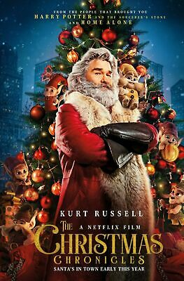 The Christmas Chronicles DVD. Sealed with free delivery.