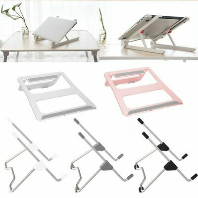 Portable Aluminium Laptop Stand Adjustable Tablet Holder For iPad Macbook EU