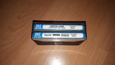 2 x Depeche Mode Cassette Tapes 747 SERIES rare bootleg find!