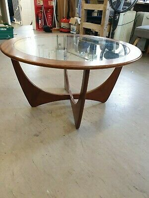Vintage G Plan Astro Teak & Glass Coffee Table Retro Home Furniture Collect CT14