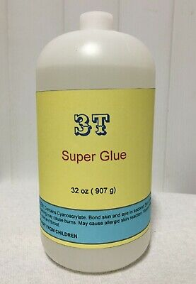 Medium thick Super glue (2 lb)