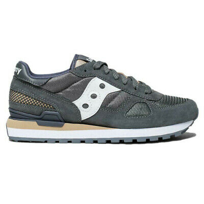 cheap for discount efbae 74b7f Saucony S1108-69 Originals Shadow Original Grey White Womens Shoes Sneakers