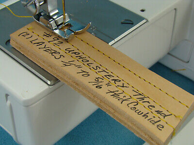 """Industrial Strength Sewing Machine Sews 1/4"""" Leather Upholstery +$150.00 Package"""
