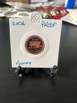 2006 Canadian Proof Penny One Cent - One Cent Copper