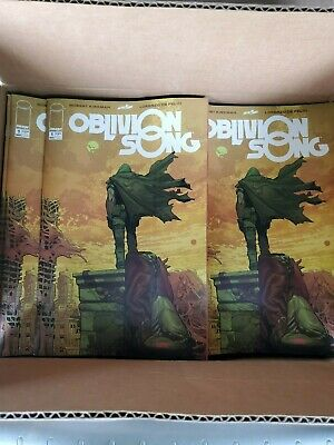 OBLIVION SONG BY KIRKMAN  #1 IMAGE COMIC BOOK 1st Print PINK SIGNATURE VARIANT