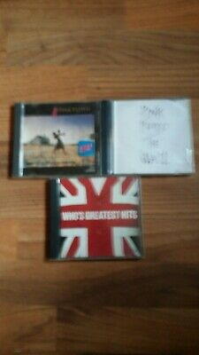 PINK  Floyd cd lot 2cds THEWALL● PINK FLOYD  ● THE WHO'S GREATEST HITS
