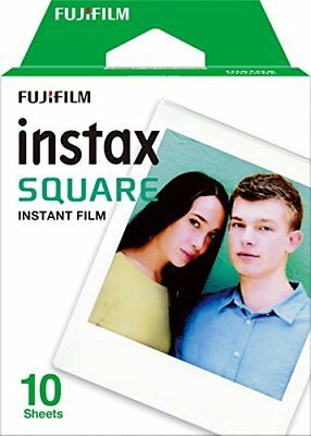 Pellicola Istantanea FujiFilm Instax Square per SQ6/SQ10 10 foto From Japan New