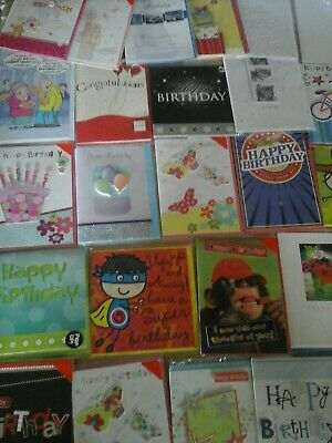 120 Cb Cards, Wholesale Joblot Greeting Cards