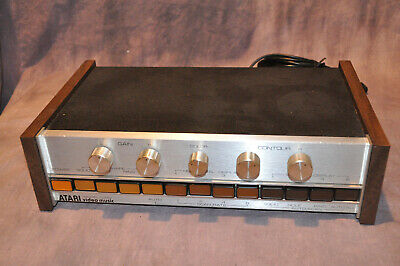 Atari Video Music Vintage Stereo Audio C-240 C240 Accessory.  Works!