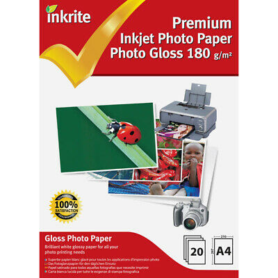 Inkrite Photo Plus Professional Paper Photo Gloss 180 gsm A4 (20 sheets)