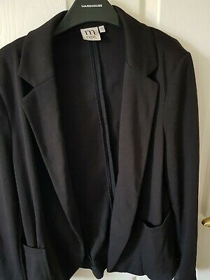 Next Maternity Black Jacket Size 12