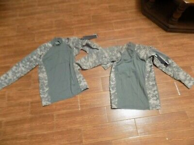 2 NEW Massif ACU Digital US ARMY Military Tactical Combat Shirts EXTRA LARGE NEW