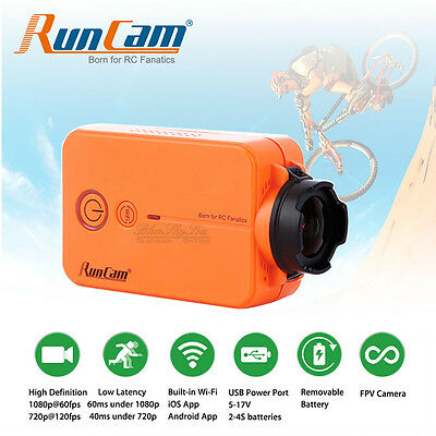 RUNCAM 2 WIFI Sports Action Camera HD 1080p & Phone App For FPV RC