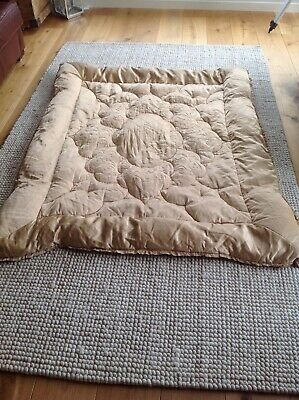Antique Gold Vintage Feather Eiderdown