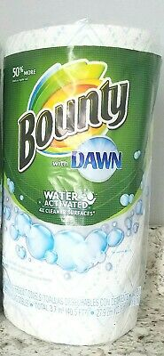 1 Roll Bounty with Dawn Water Activated Paper Towels (59 2-Ply Sheets per roll)